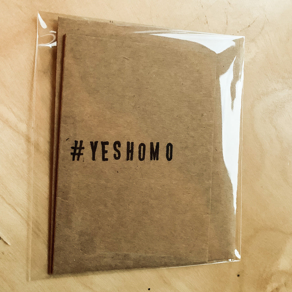 #YesHomo Greeting Card