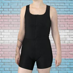 Binder, Shapewear & Pouch Combo-Gender Bender-XS-Black-Agnes & Edie