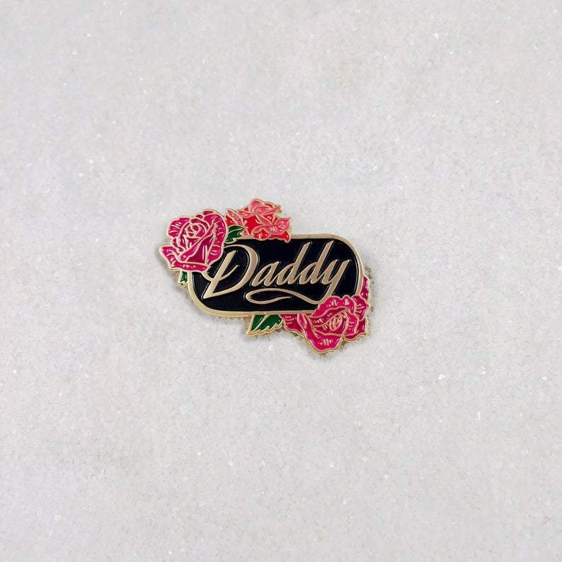 [Product_type] - Daddy Floral Pin - agnes-and-edie.myshopify.com