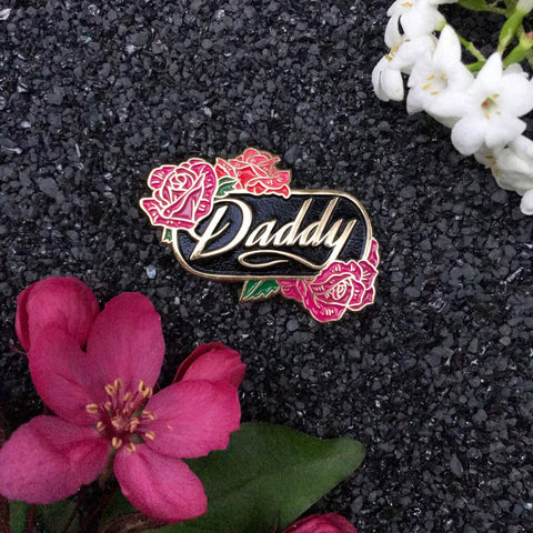 Daddy Floral Pin-Wild Fancy Design-Agnes & Edie
