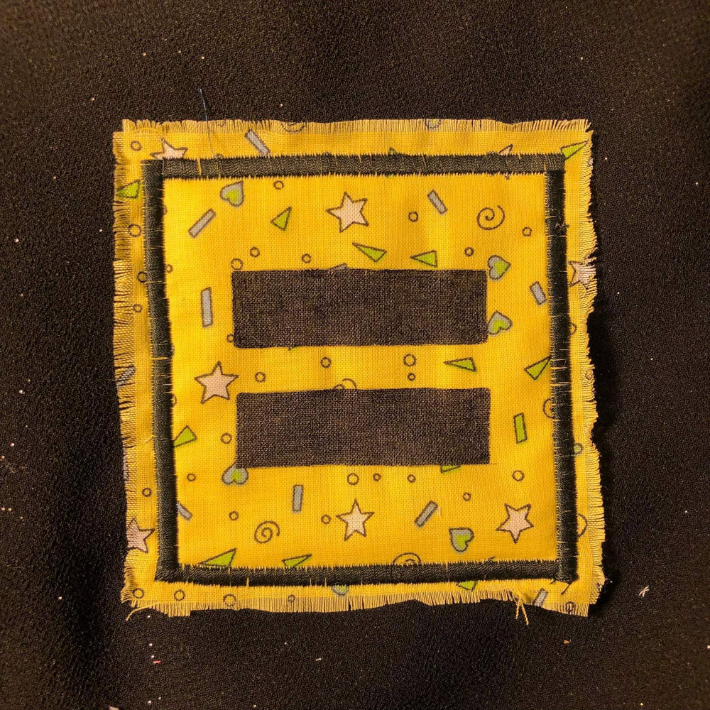 [Product_type] - Equality Handmade Iron-on Patches - agnes-and-edie.myshopify.com