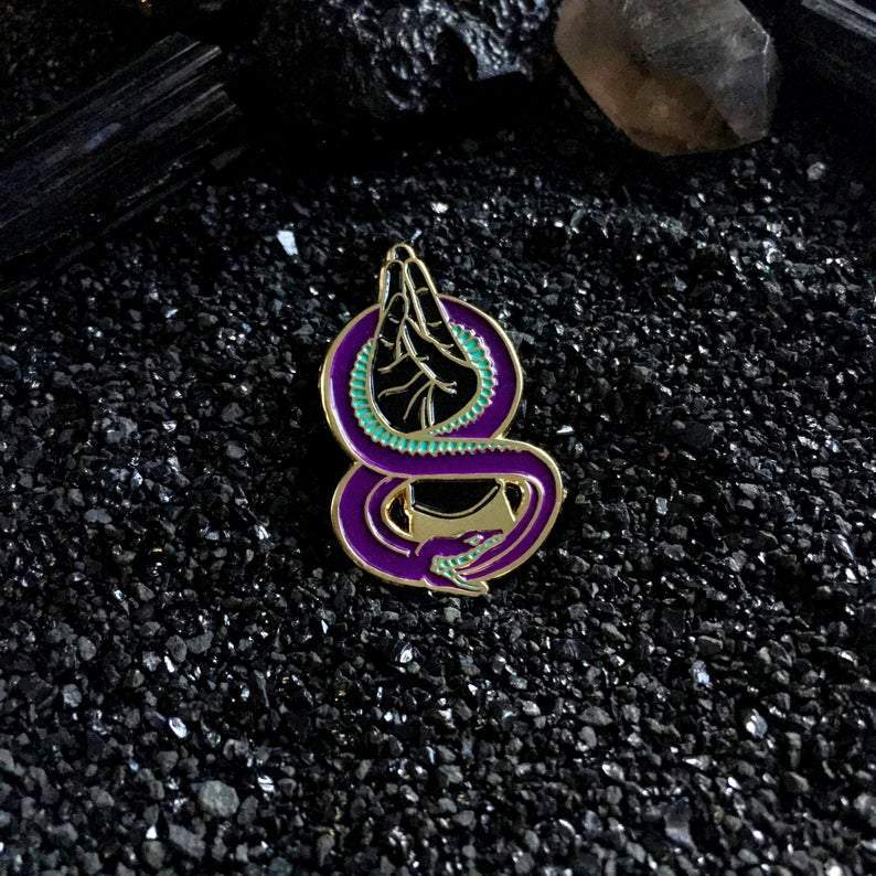 [Product_type] - Forever Fist Pin - agnes-and-edie.myshopify.com