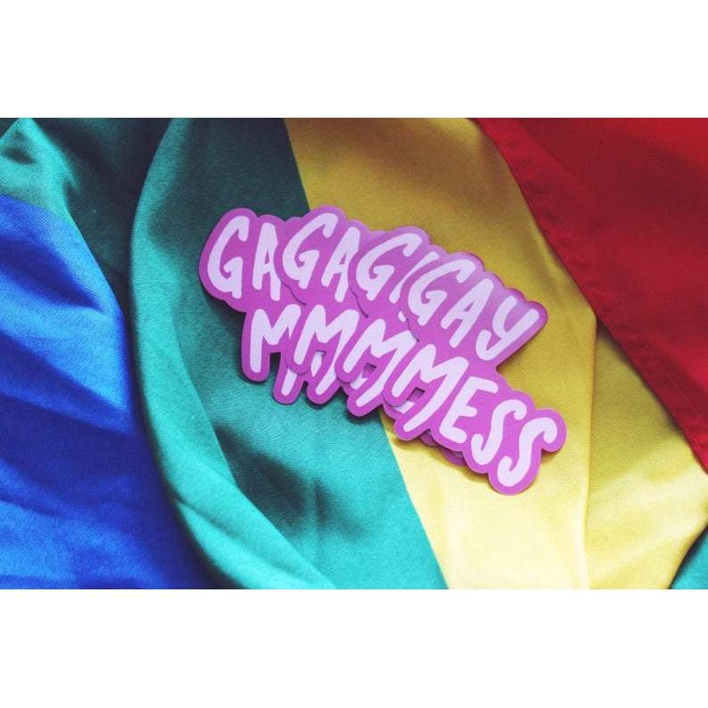 [Product_type] - Gay Mess Sticker - agnes-and-edie.myshopify.com