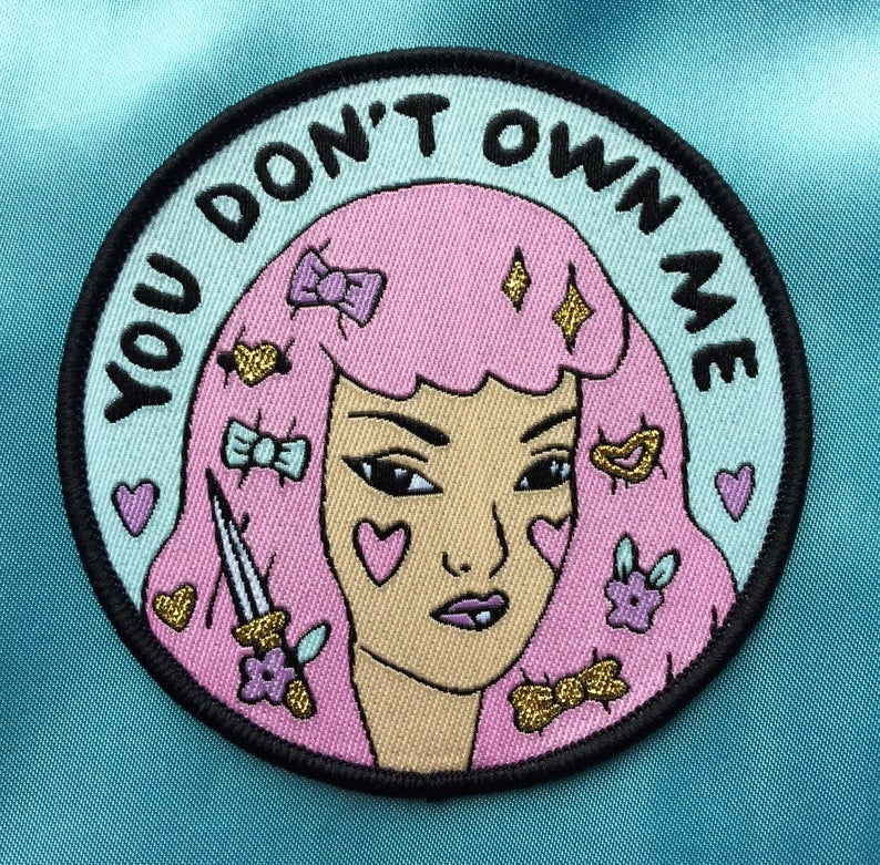 [Product_type] - You Don't Own Me Patch - agnes-and-edie.myshopify.com