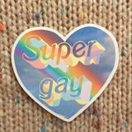 [Product_type] - Super Gay Sticker - agnes-and-edie.myshopify.com