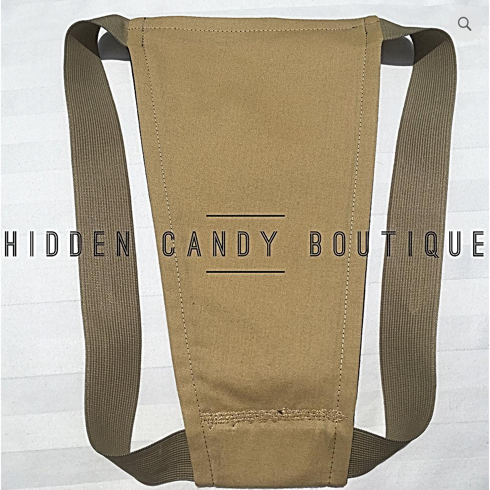 The Nude Collection Premier Tucking Gaff-Hidden Candy-X/S-Tan-Agnes & Edie
