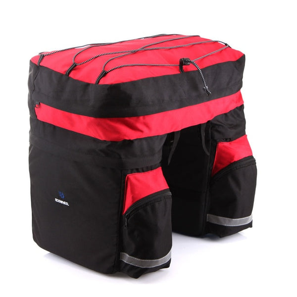 ROSWHEEL 60L Waterproof Polyester Bike Bag Pannier