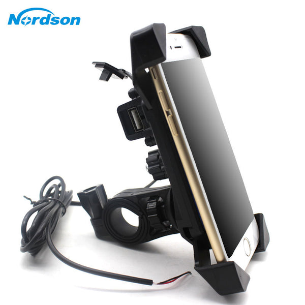 Phone Holder With USB Charger