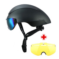 CAIRBULL 2 Lens AERO-R1 Cycling Helmet With Magnetic Goggles