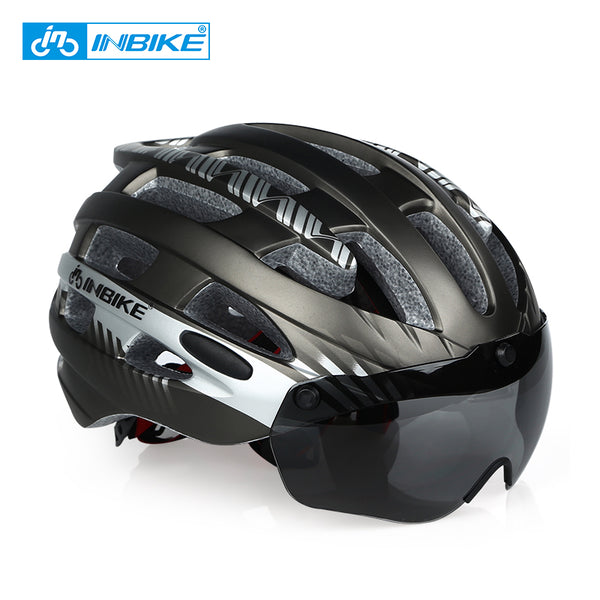 INBIKE Ultralight Bike Helmet MTB with Lenses Model MX-3