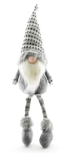 Winter Gnome-Black and White