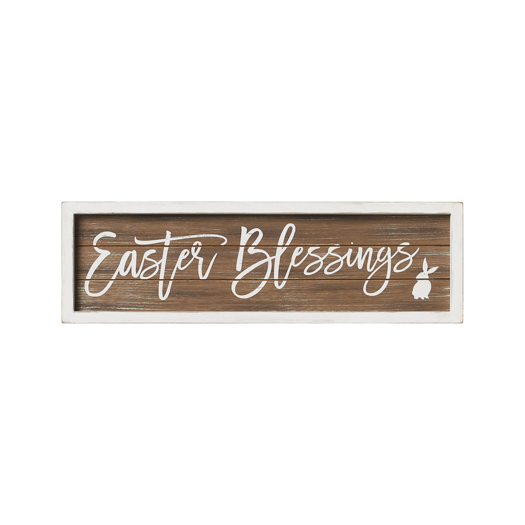 Easter Framed Sign