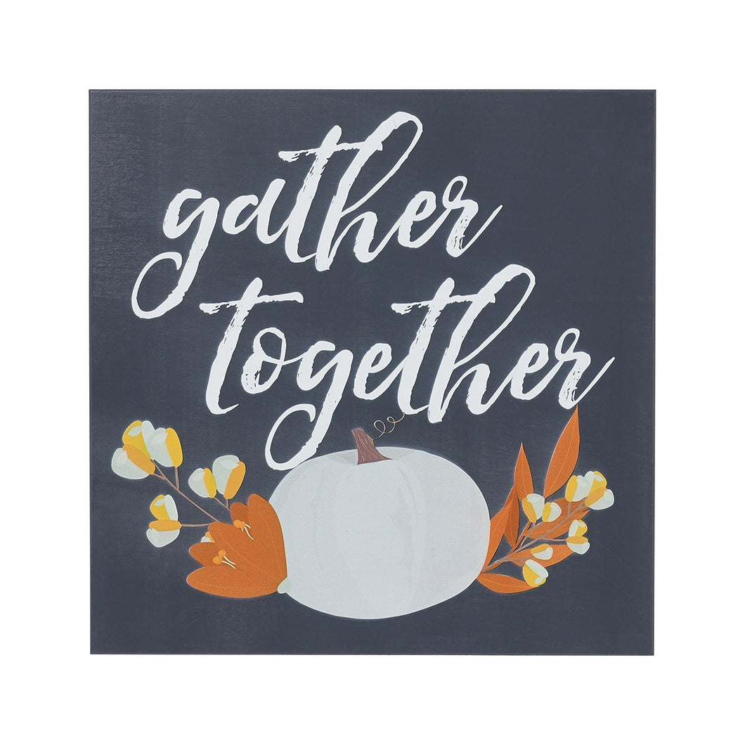 Gather Together Wood Sign