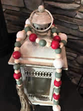 Load image into Gallery viewer, Christmas Farmhouse Wood Bead Garland