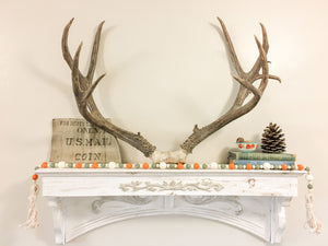 Fall Farmhouse Wood Bead Garland