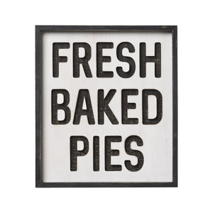 Fresh Baked Pies Router Sign