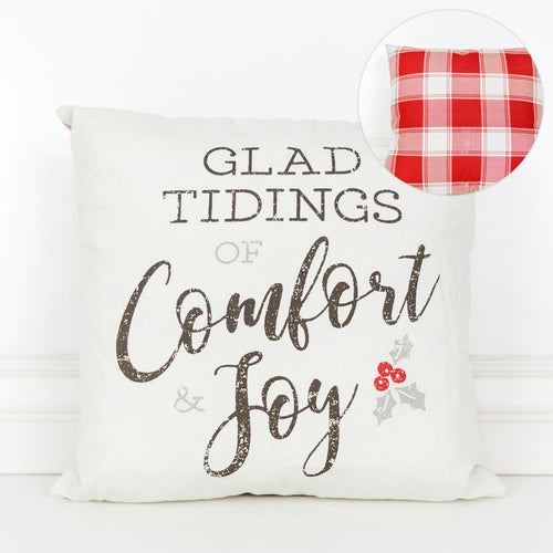 Glad Tidings Pillow