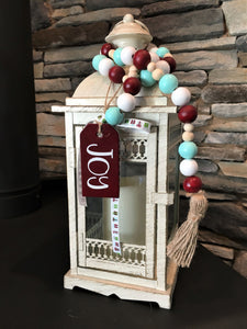 Christmas Joy Bead Garland