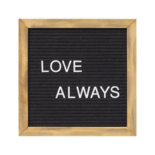 Load image into Gallery viewer, Letter Board Sign - Black