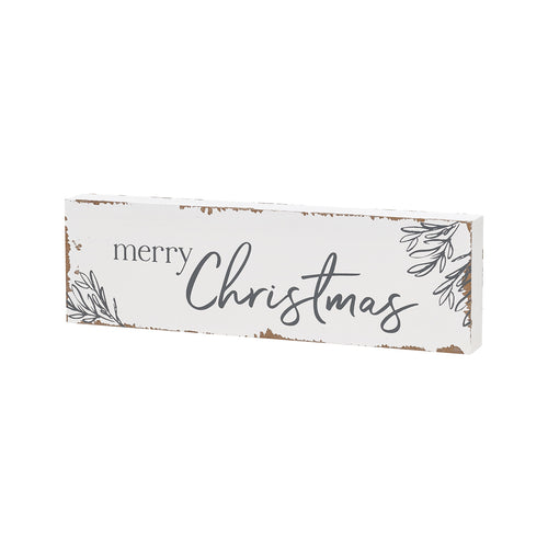 chippy christmas block sign farmhouse christmas