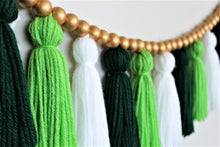 Load image into Gallery viewer, St. Patty's Yarn Tassel Garland
