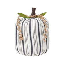 Load image into Gallery viewer, Striped Fabric Pumpkins