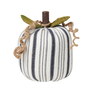 Striped Fabric Pumpkins