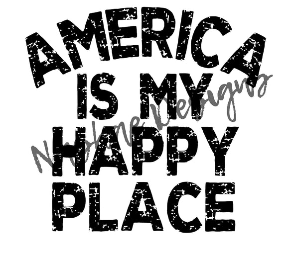 America is my happy place, sublimation transfer, mug design, shirt design, etsy, nashae designs, sublimation, transfer, 4th of July
