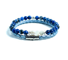 Load image into Gallery viewer, ARIAN SODALITE BRACELET SET