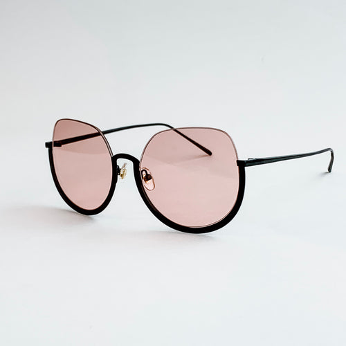muse half frame sunglasses
