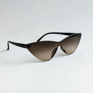 frameless cat eye sunglasses