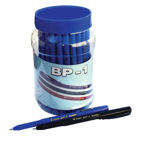 PILOT BP1BALL PENS 50 PCS 45 BLUE +5 BLACK