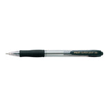PILOT SUPER GRIP RECT. MED BLACK