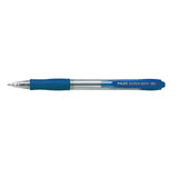 PILOT SUPER GRIP RECT. MED BLUE