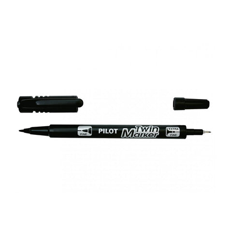 PILOT TWIN MARKER BLACK