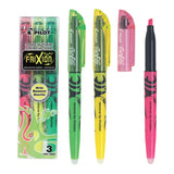 PILOT FRIXION HIGHLIGHTER IN WALLET SET OF 3