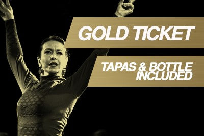 GOLD TICKET (TABLE + TAPAS + BOTTLE of cava/wine/sangria per person)