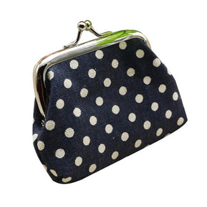 Polka Dot Coin Purse-Trademarked - The Lezbrarian