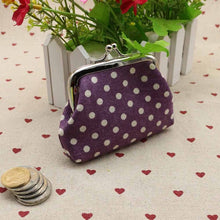 Load image into Gallery viewer, Polka Dot Coin Purse-Trademarked - The Lezbrarian