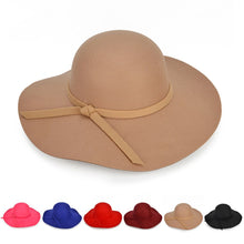 Load image into Gallery viewer, High Society Floppy Hat - The Lezbrarian