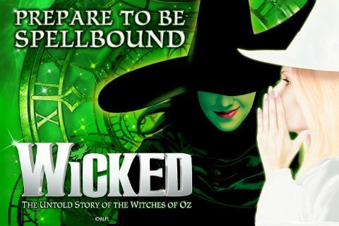 Wicked the Musical Theatre Tickets