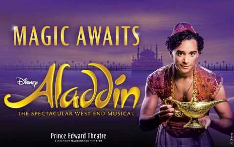 Aladdin Musical West End London Theatre Tickets