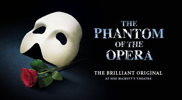 Phantom of the Opera Musical London West End Theatre Tickets