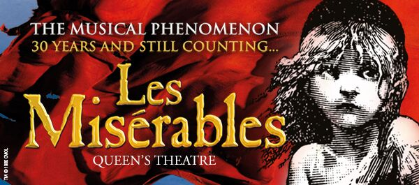 Les Miserables Musical London West End Theatre Tickets