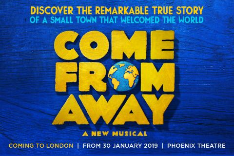 Come From Away Musical West End London Theatre Tickets