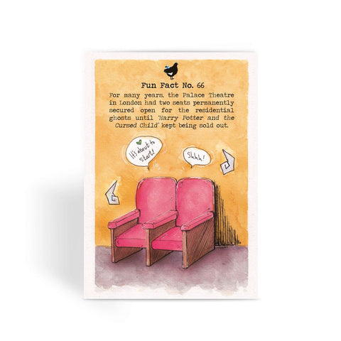 Fact No. 66 - The Palace Ghosts Greeting Card