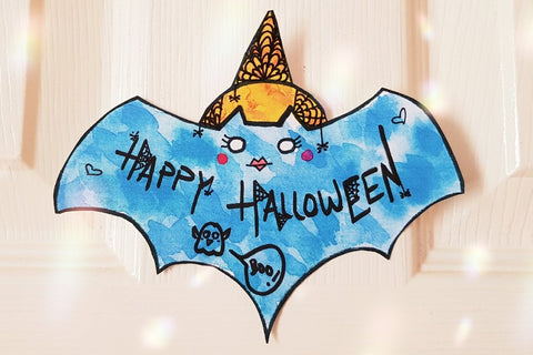 FREE - Wicked-Themed Halloween Bat Bunting Pattern