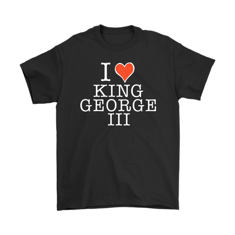 I Heart King George III T-Shirt
