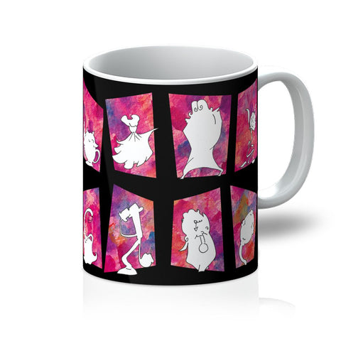 Belle Block Tango - Beauty and the Beast meets Chicago Mug