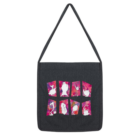 Belle Block Tango - Beauty and the Beast meets Chicago Tote Bag